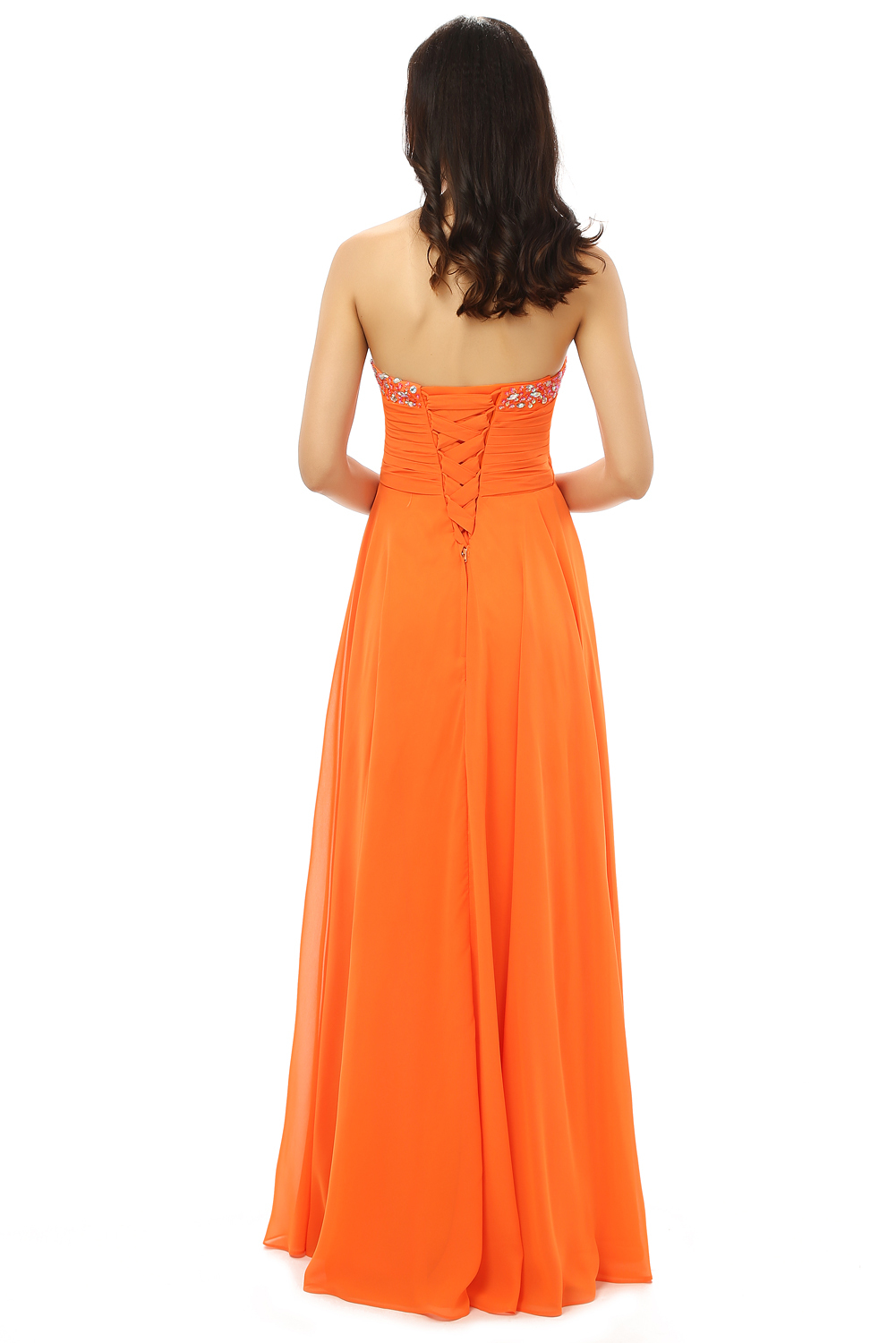 cheap plus size prom dresses women s cheap orange prom dresses gown long formal evening 1777