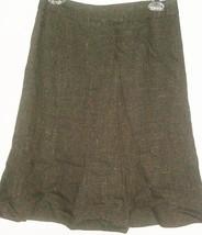 Ann Taylor Loft Brown Fitted Waist Flair Skirt Size 4P - $8.00