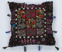 Christmas Gifts Indian Patchwork Cushion Cover ... - $18.68