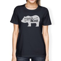 Mama Bear Women's Navy Cotton Tee Cute Graphic Gifts For New Moms - €12,87 EUR+