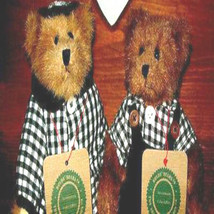 "Boyds Bear ""Bailey & Edmund"" (Set of 2) 8"" Plush Bears- Spring 1994-NWT- RARE - $169.99"