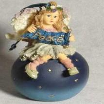 "Boyds Wee Folkstone Ornament ""Olivia..Wishing You Peace"" #25800-1E-NIB-Retired - $23.99"