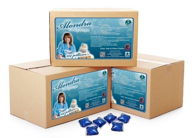 Alondra Laundry Pillows 7x concentrated - Double Pack 308 Pillows, 1 per Load