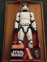 "Star Wars 18"" First Order Stormtrooper NEW JAKKS PACIFIC Force Awakens 2... - $59.40"