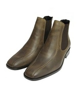 Olive green mens chelsea boots s thumbtall
