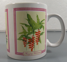 Hilo Hattie Tropical Flowers Coffee/Tea Mug/Cup 2005 - $9.95