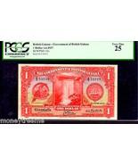 "BRITISH GUIANA P12a ""TOUCAN BIRD"" 1.6.1937 $1 ""KING GEORGE VIth"" PCGS 25... - $1,195.00"