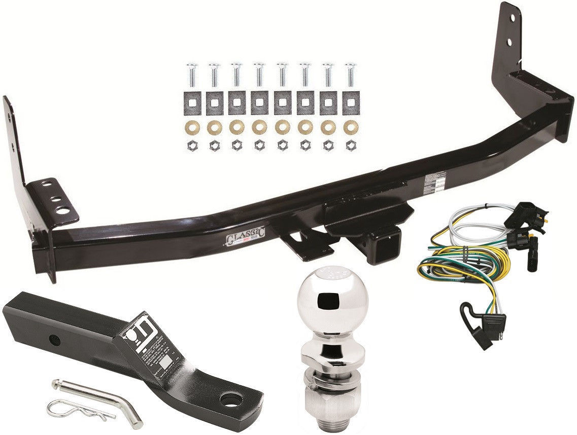 complete trailer hitch package w wiring kit for 1997 2002. Black Bedroom Furniture Sets. Home Design Ideas