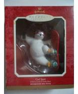 Coca-Cola Polar Bear Snow Surfing Ornament - $9.99