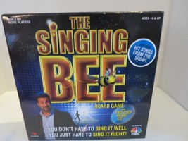Singing Bee Board Game With Music CD Cardinal Industries 2007 - $13.09