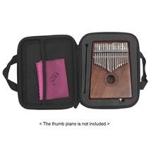 Shock-proof 17-Key Kalimba Case Thumb Piano Mbira Box Bag Water-resistant - $40.35 CAD