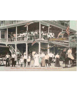 Ruth Lynn Hotel Holly Beach New Jersey Vintage Post Card - $6.00