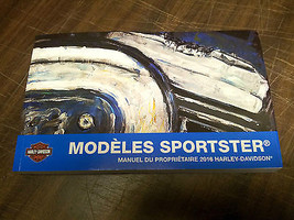 2016 Harley Davidson NEW Sportster Models FRENCH Owner's Manual 99468-16FR - $30.67