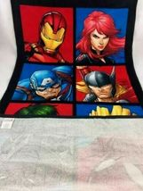 Avengers Faces of Heroes Beach Towel - Marvel   image 3