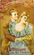 Merchant's Gargling Oil for Lovers Rustic Vintage Metal Sign - $19.95