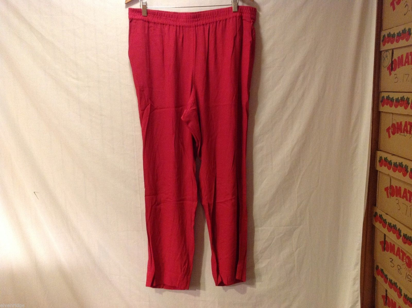 J. Jill Womens Red Pants, Size Large