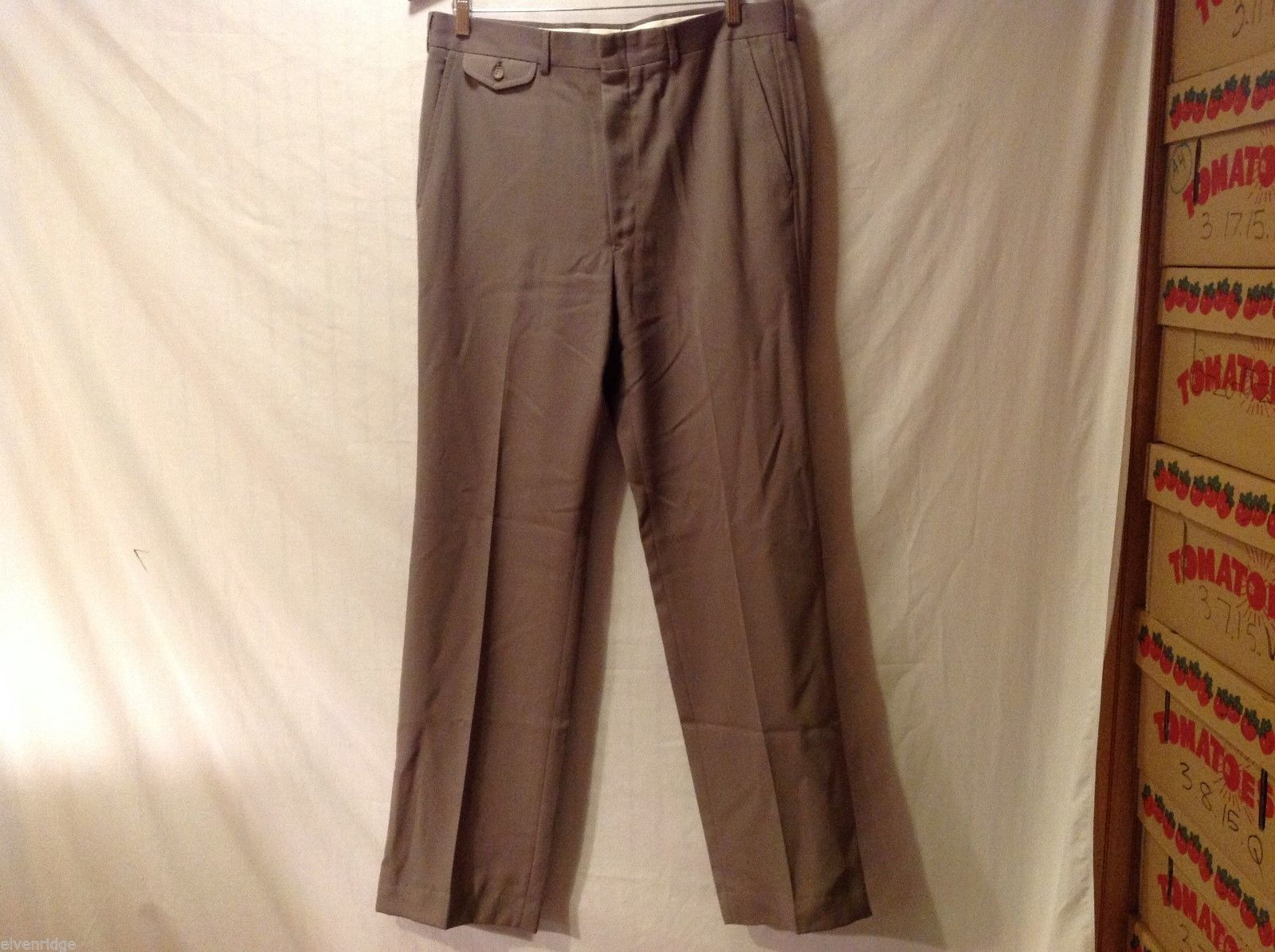 Mens Stanley Blacker an Dress Pants, No Size Indicated (See Measurements)