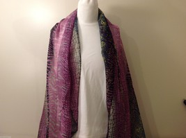 Multi Colored, Multi Designed Scarf, New!