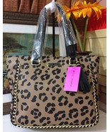 NWT Betsey Johnson Leopard Tote BJ50950P - $108.00