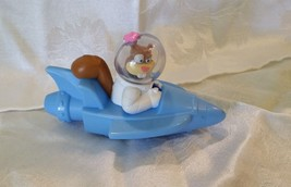 2012 McDonald's Sandy Cheeks Viacom Figure Toy Rocket Boat - $2.99