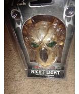 DARK SIDE EVIL SKULL NIGHT LIGHT WITH AUTO ON / OFF LIGHT SENSOR - $2.92