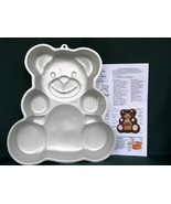 Wilton * Huggable ~ Honey Bear ~ Baby Teddy Bear * Cake Pan  502-3754 - $10.25
