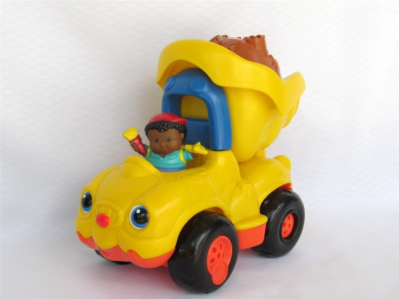 Little People Toys : Fisher price little people lil movers dump truck j