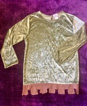 In Character Costumes Robin Hood Crushed Velvet Top Shirt Only Adult Medium - $13.09