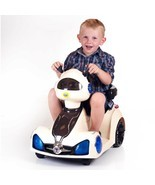 kids battery operated ride on space rover car w... - $133.65
