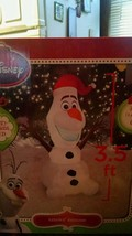 Disney Christmas airblown inflatable Olaf - $39.99