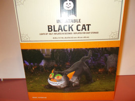 Halloween Black Cat airblown inflatable 4ft - $45.49