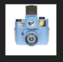 NEW HOLGA 120 GTLR Blue TLR TWIN LENS REFLEX MEDIUM FORMAT CAMERA w/4C F... - $54.49