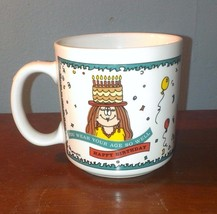 Ganz Cathy Guisewite ....Cathy Mug Happy Birthday You Wear Your Age So Well - $9.49