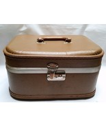 Vintage Cosmetic Case Makeup Travel Luggage Tra... - $32.67