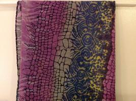 Multi Colored, Multi Designed Scarf, New! image 9