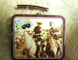 Tin Lone Ranger Lunch Box Small - $11.34