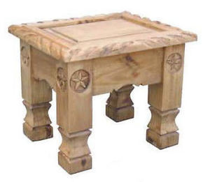 Star Rope Living Room Table Set Sofa End Coffee Real Wood Rustic Cabin Lodge