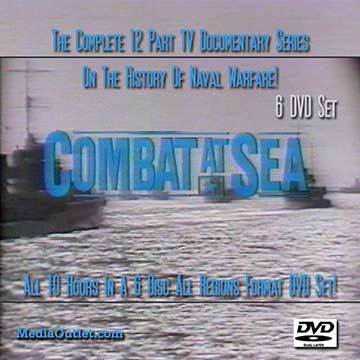 Primary image for Combat At Sea DVD Set All 12 Naval Warfare TV Shows 6 Discs