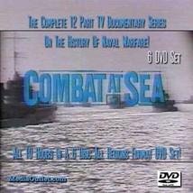 Combat At Sea DVD Set All 12 Naval Warfare TV Shows 6 Discs - $59.95