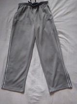 Men's Old Navy gray with white/blue trim jogging pants size small - $8.59