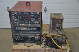 Lincoln Idealarc TIG 300/300 AC/DC Welder 208-230/460V & Bernard 3 Gallo... - $2,623.50