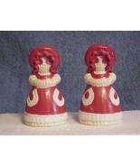 Little Bo Peep Handmade Ceramic Salt and Pepper Shakers w/cork stoppers - $9.49