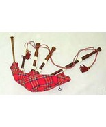 NEW IMPORTED FULL SIZE NATURAL ROSEWOOD BROWN SCOTTISH BAGPIPES SET NEW ... - $180.69