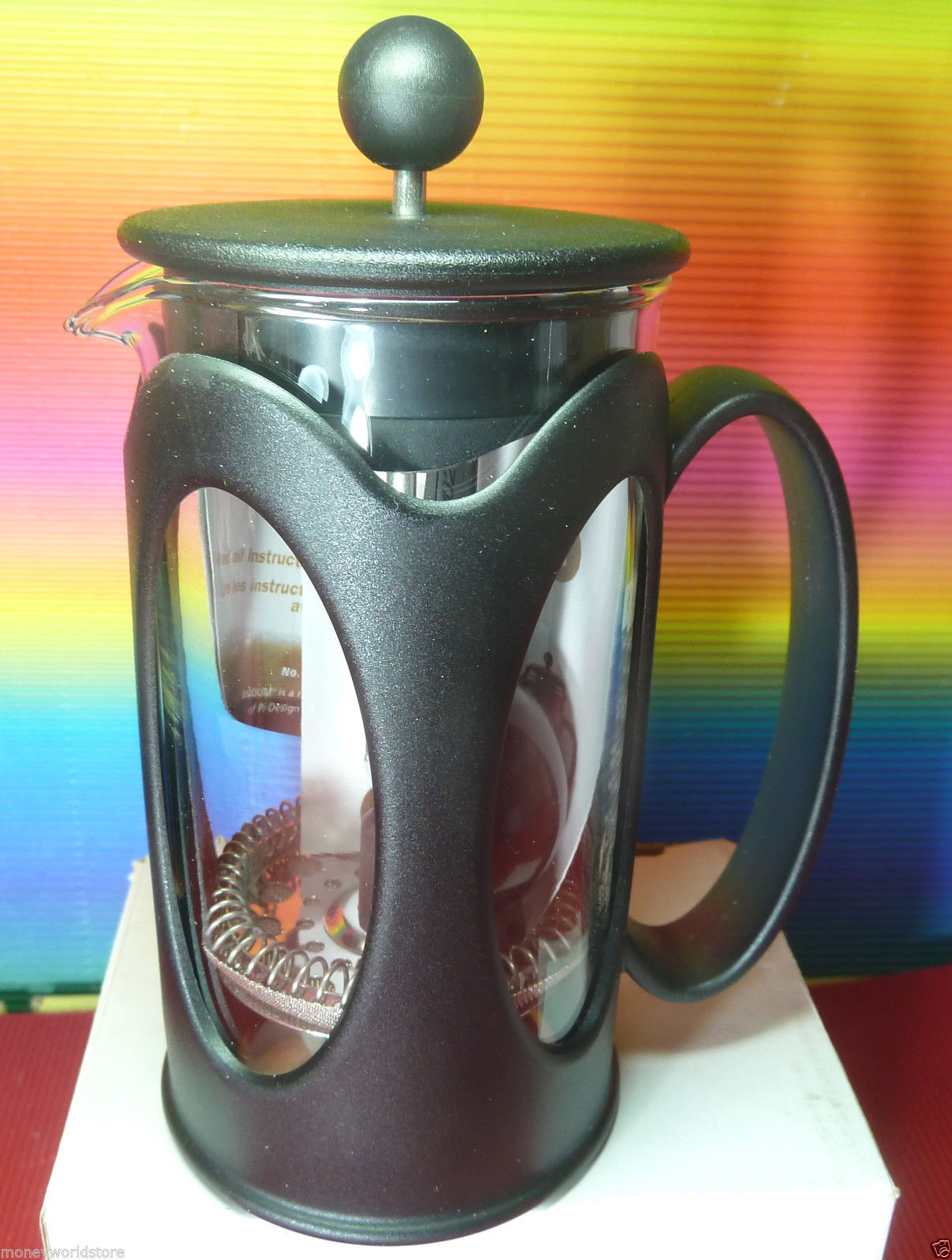 VALENTINE S!! STARBUCKS,BODUM FRENCH PRESS COFFEE MAKER FOR 3 CUPS, NEW,12FL OZ - Starbucks
