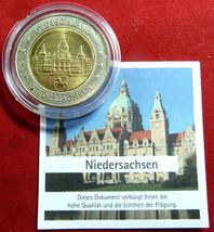 !GERMANY NIEDERSACHSEN SPECIMEN 2 EURO COIN,BIM... - $18.00