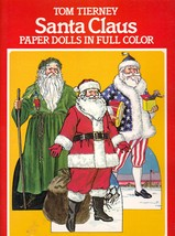 Santa Claus Paper Dolls in Full Color by Tierney, Tom  - $14.00