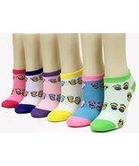 ICONOFLASH Children's Printed 6-Pair Bundle Ankle Sock Pack, (Flip Flops... - $10.88
