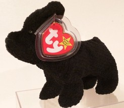 Ty B EAN Ie Babies 1996 Scottie The Scottish Terrier With Tag Errors Retired Mwmt - $87.45