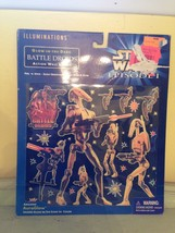 Vintage Episode 1 Battle Droids Glow in the Dark Action Wall Scenes RARE! - $9.27