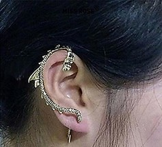 Alloy Dragon Patter Earring - One Piece [Misc.]